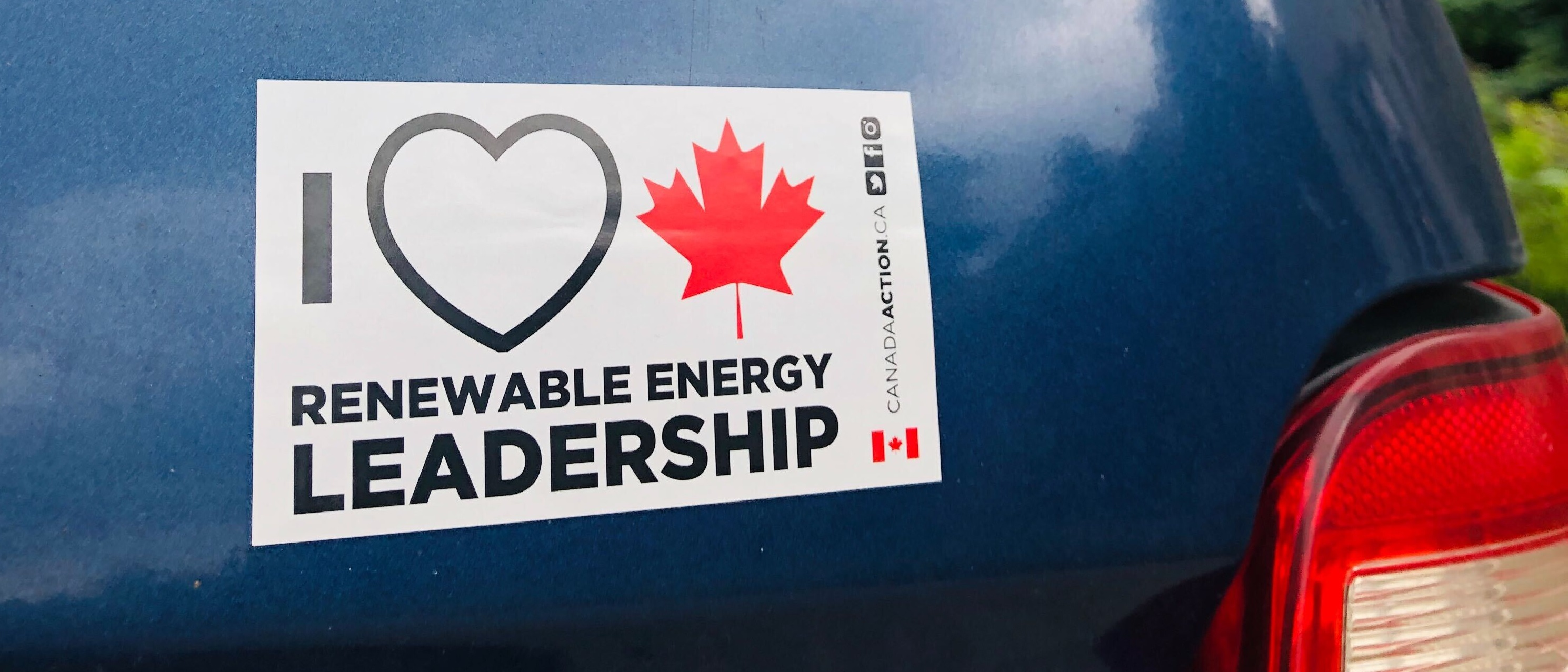 i love Canadian renewable energy leadership