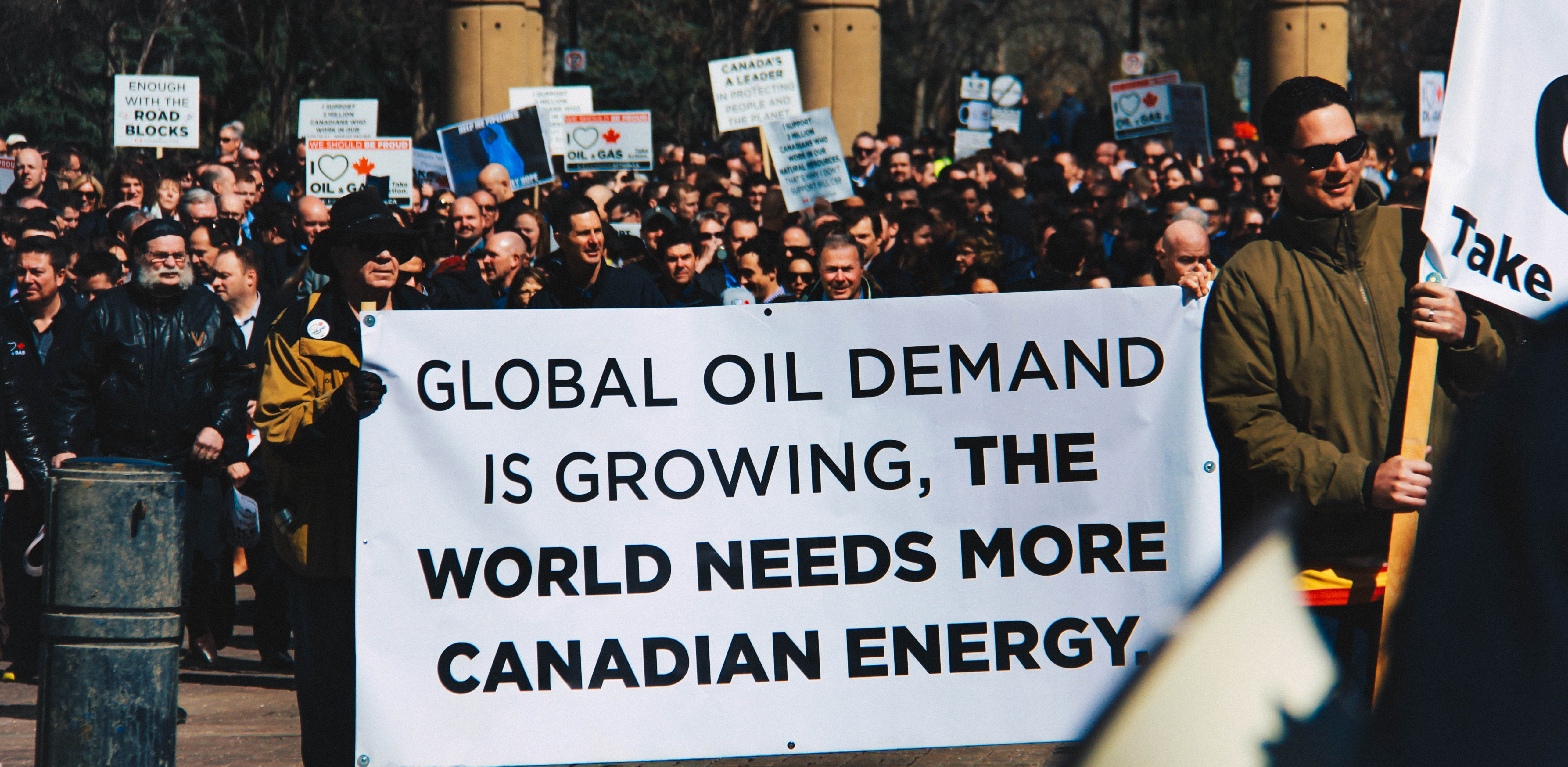 global oil demand is growing poster pro resource rally