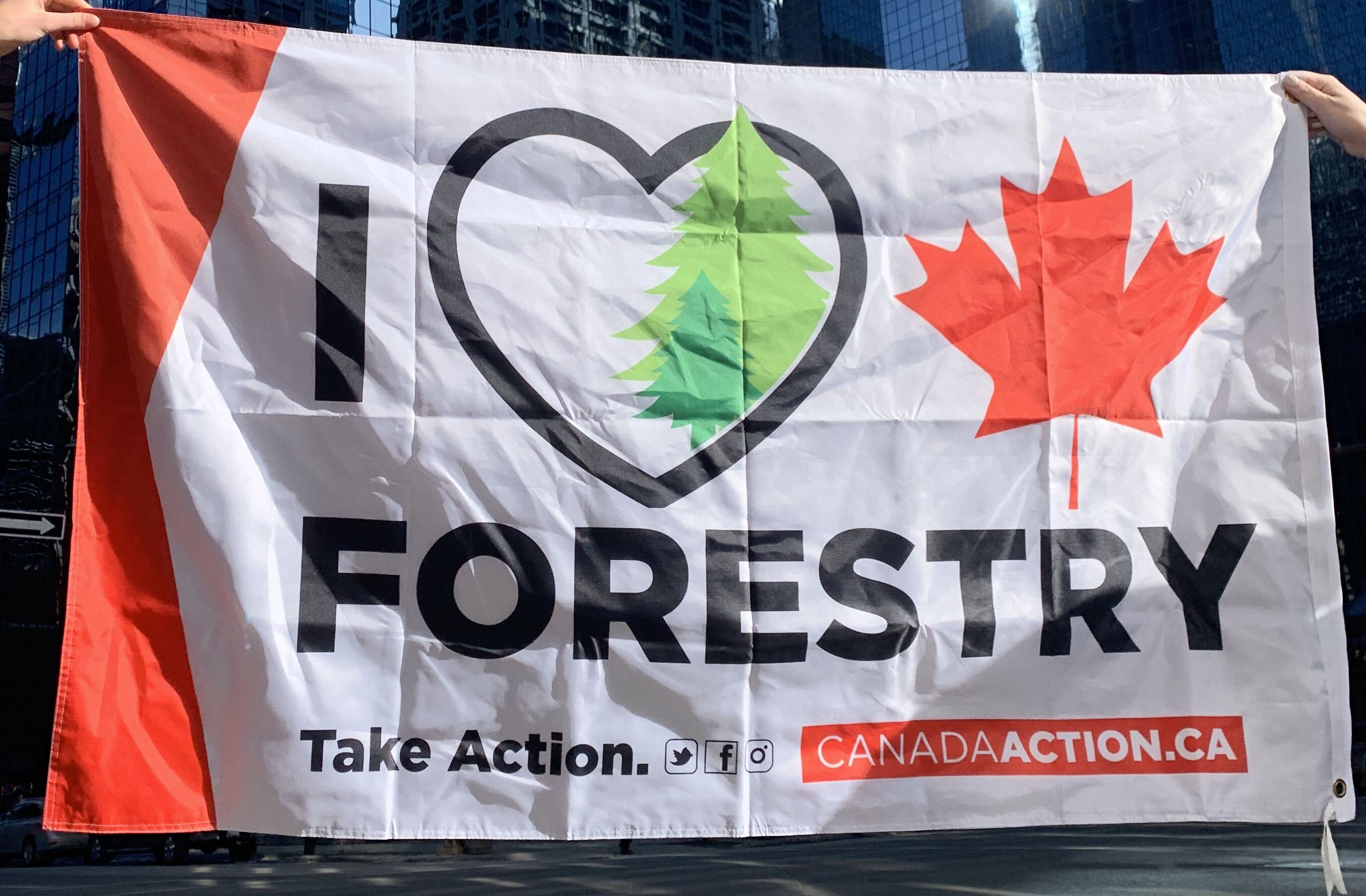I Love Canadian Forestry - Canada Action