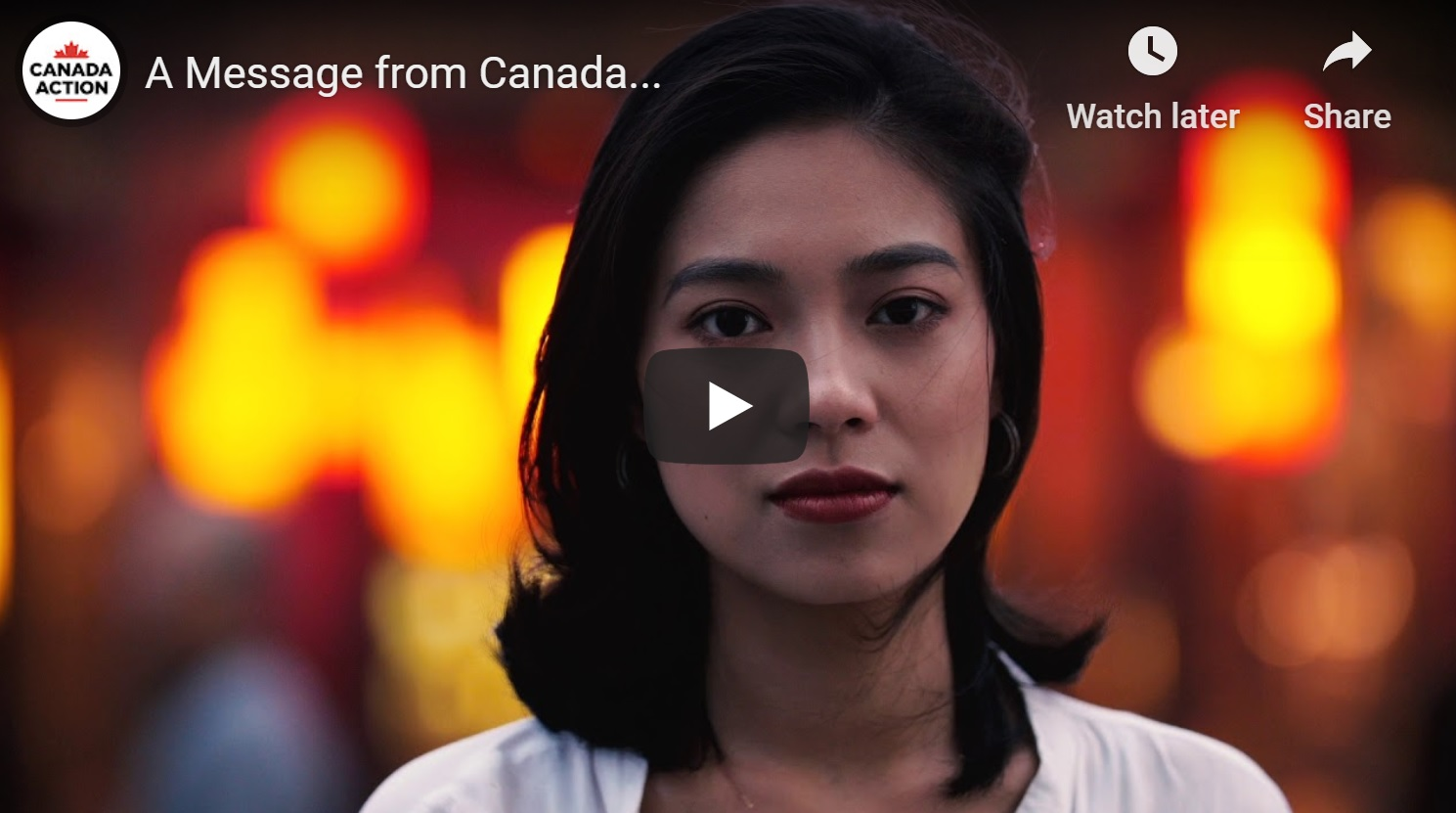 A Message from Canada: We Are Tired of Being Pushed Around [Video]