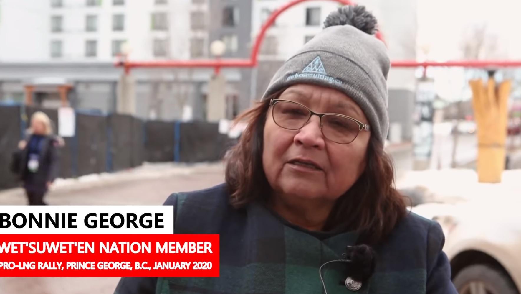 WATCH: Wet'suwet'en Says Her People Are Being Misinformed on Gas Pipeline