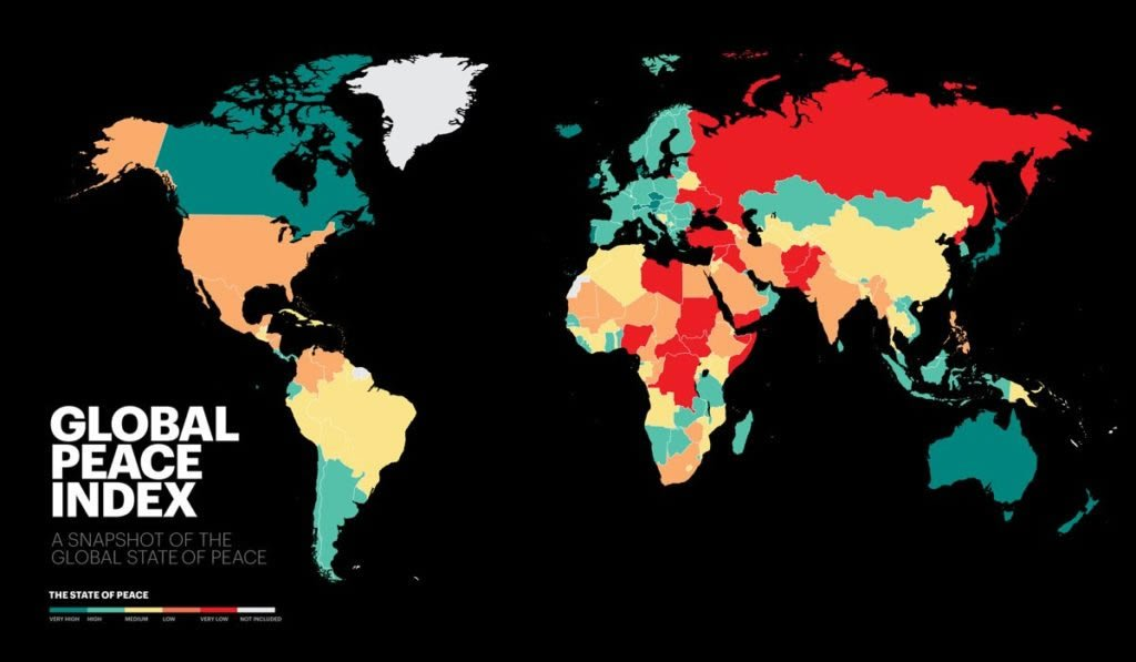 Canada Ranks 6th on the Global Peace Index 2020