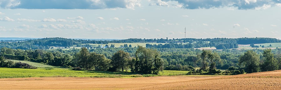 farmland in Ontario, Canada