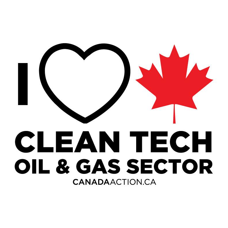 i love cleantech canadian oil and gas sector
