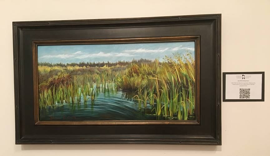 oilsands reclamation art water painting
