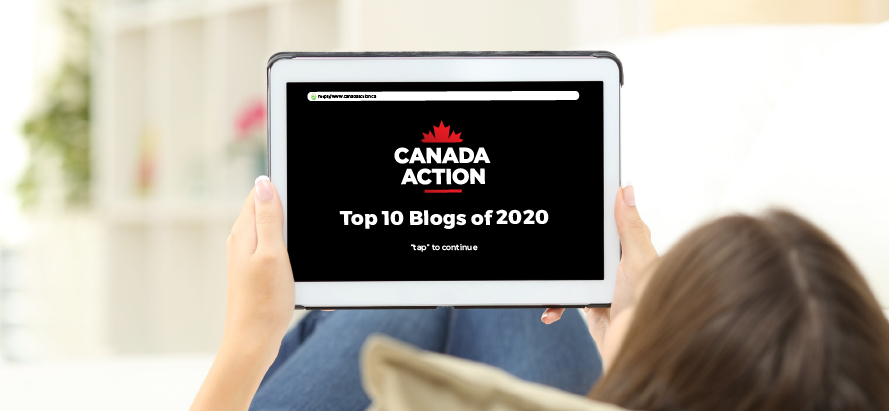 Canada Action Top 10 Blogs of 2020