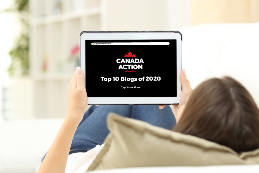 Canada Action's Top 10 Blogs of 2020