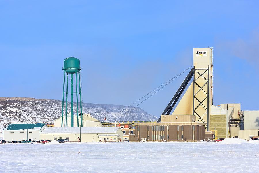 Mosaic K1 Potash Mine in Saskatchewan