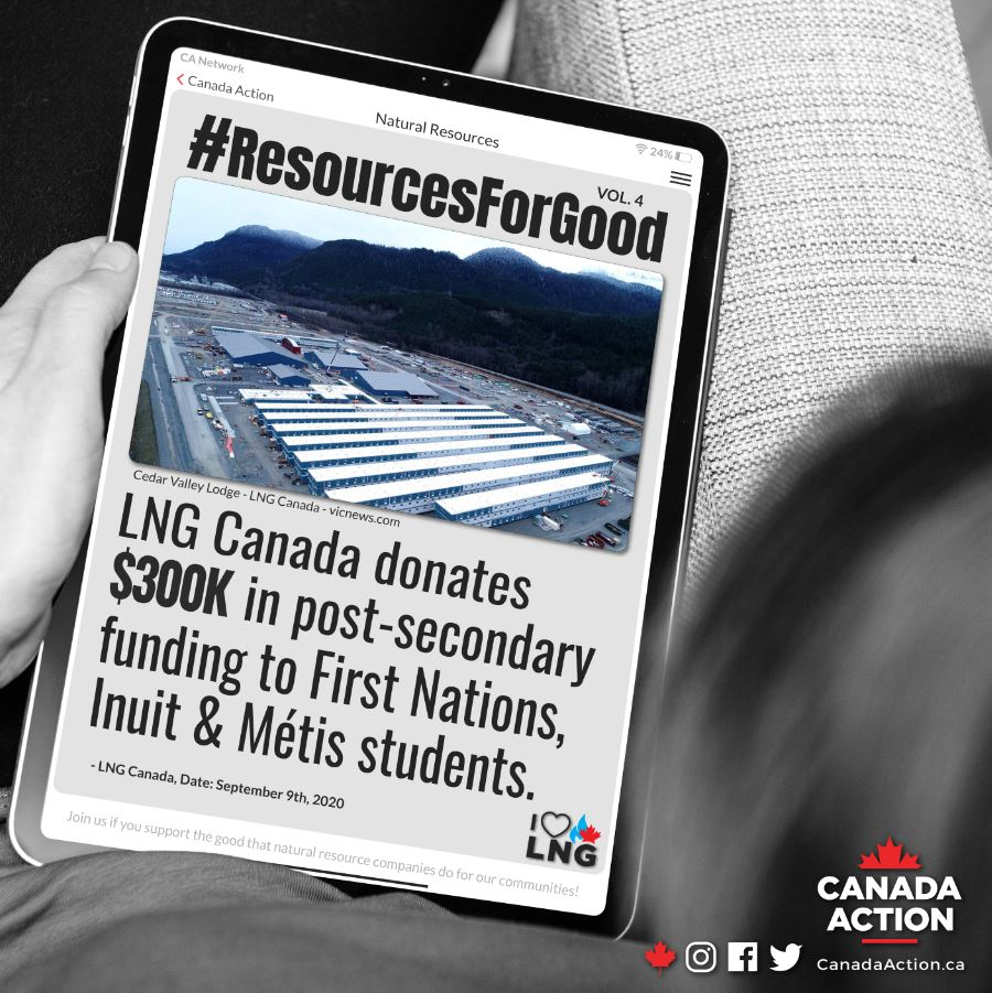 LNG Canada Donates $300,000 to Indigenous post-secondary students