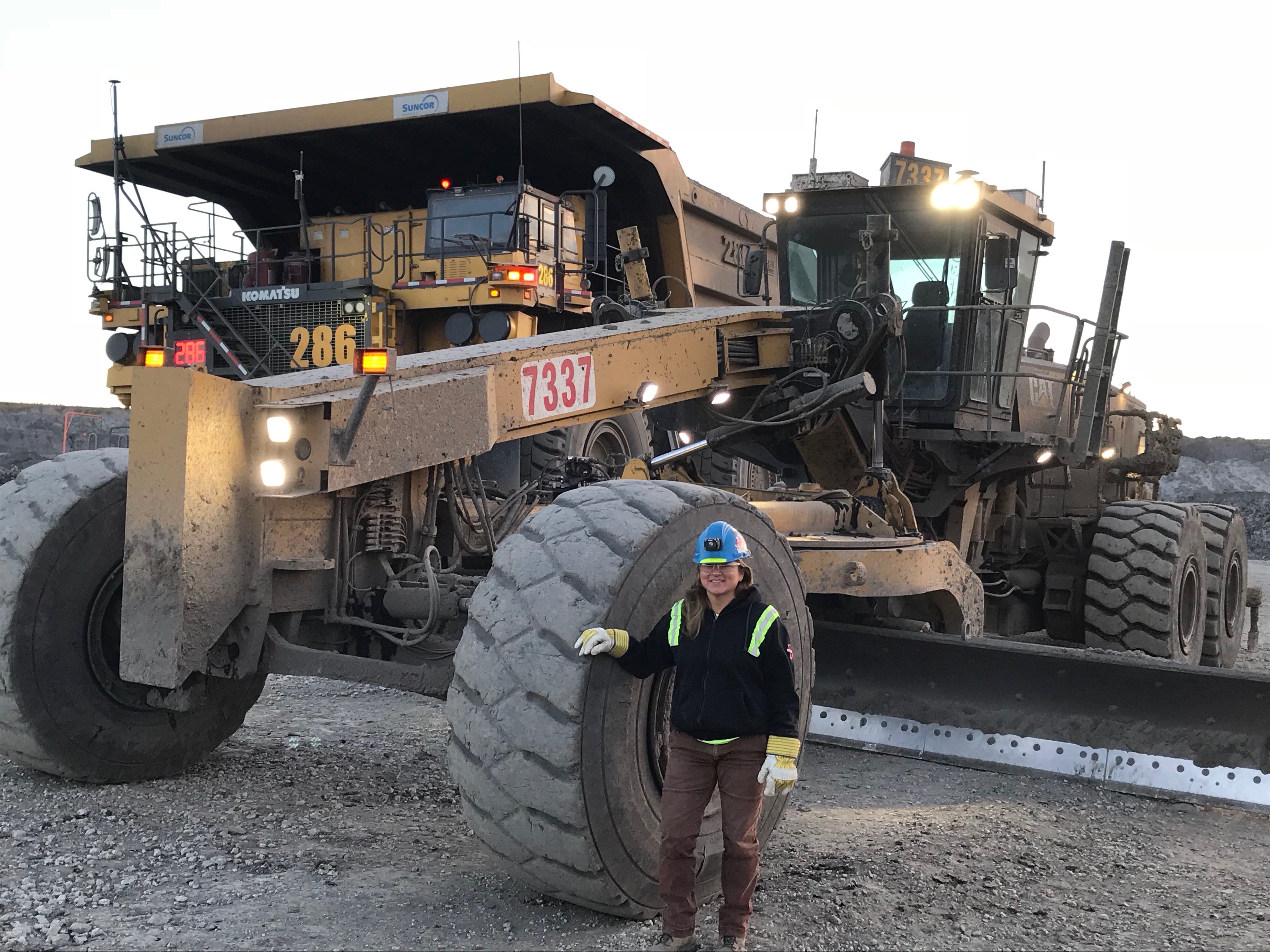 Estella Petersen - Heavy Equipment Operator & Indigenous Woman in the Oil Sands