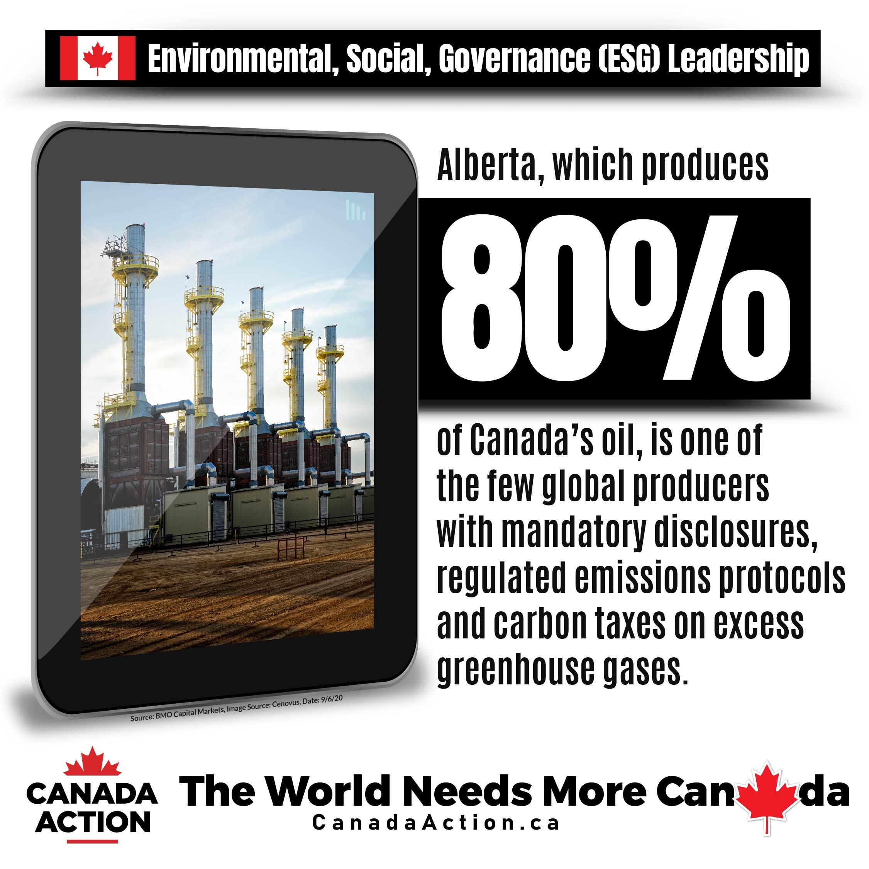 Alberta Oil Sands Environmental Leader Fact 1