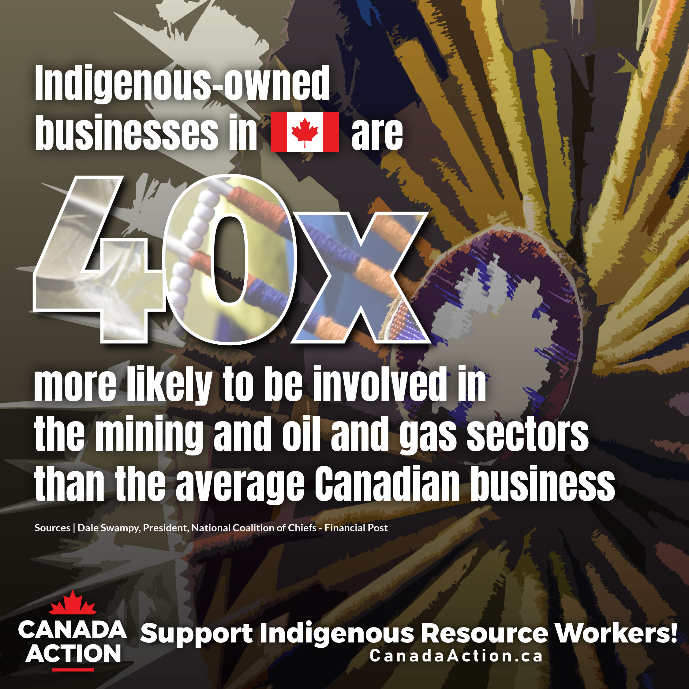 Indigenous Facts Businesses 40x More Likely to Do Business with Natural Resources