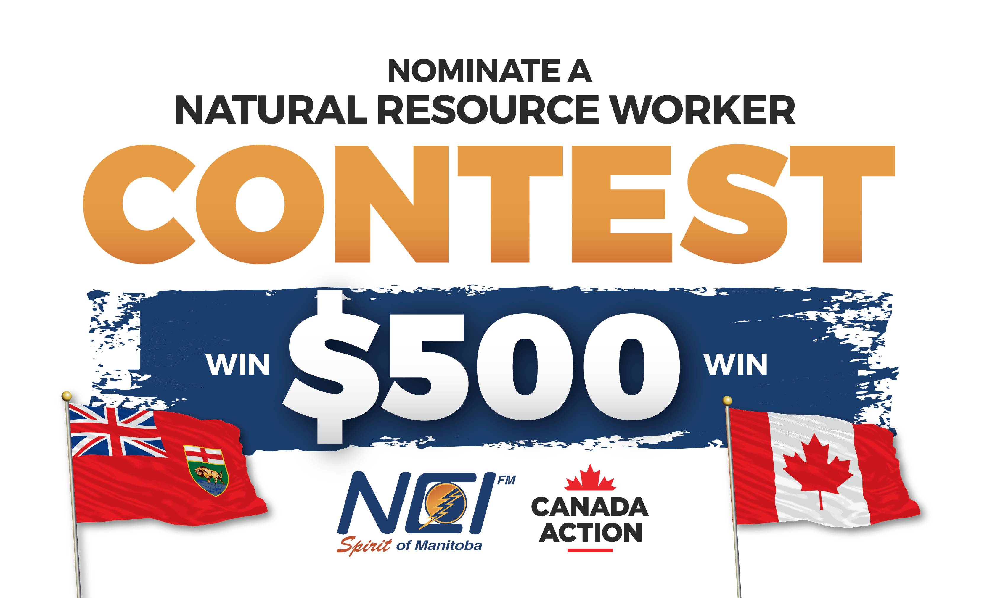 Image: WIN $500! - Nominate a Natural Resource Worker in Manitoba Contest - NCI FM
