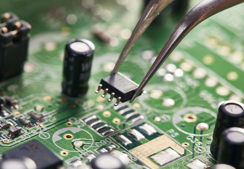 circuitboards made from mined materials