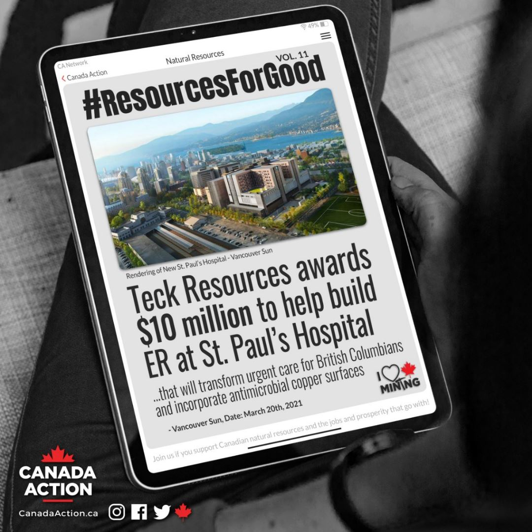 Resources for Good Teck Donates 10 Million to St. Paul's Hospital Vancouver small