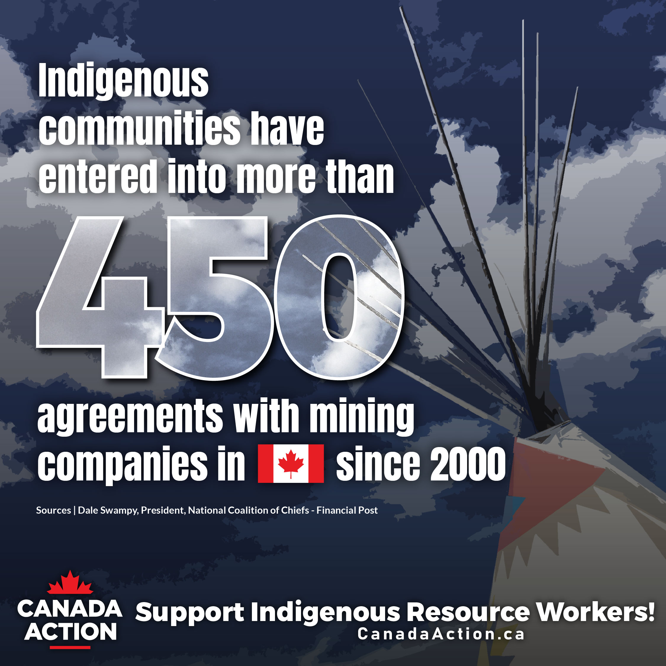 Mining Companies Signed 450 Agreements with Indigenous Communities in Canada Since 2000
