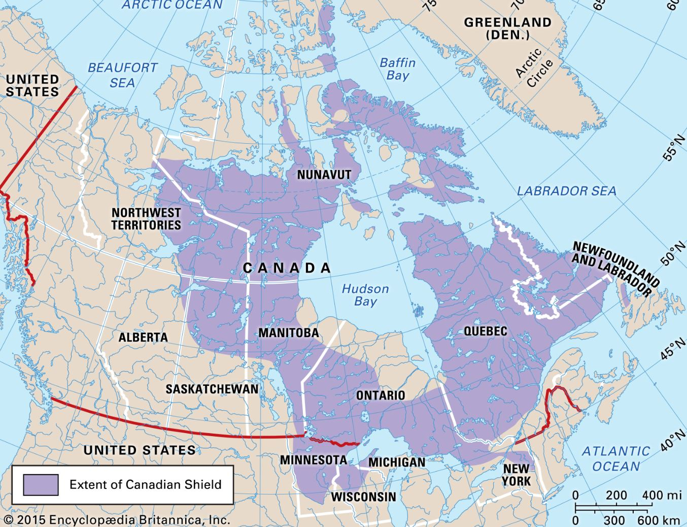 the canadian shield gold mines canada