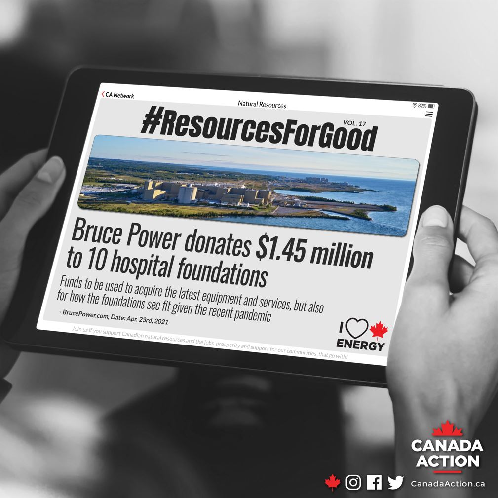 resources for good bruce power donates $1.45 million to 10 hospital foundations