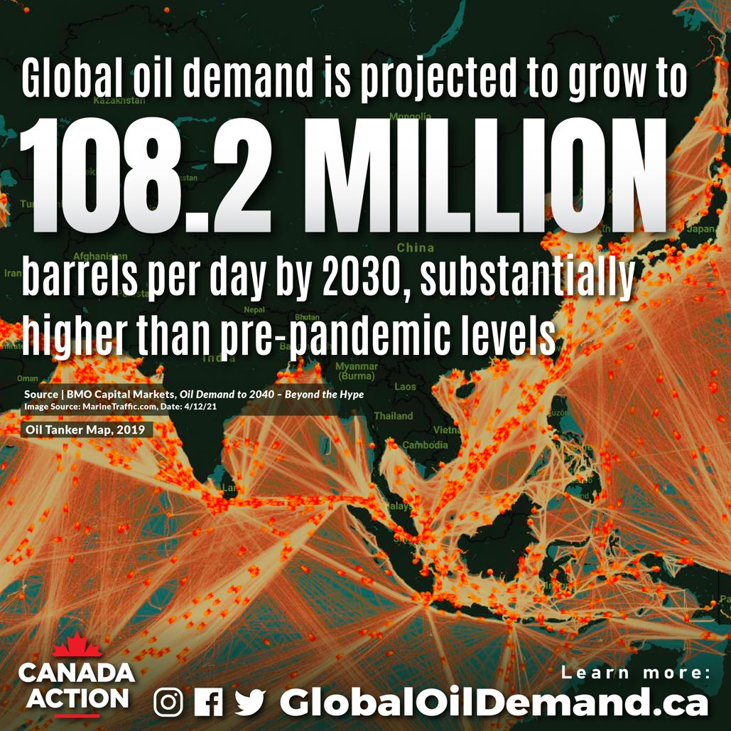Global Oil Demand Here to Stay