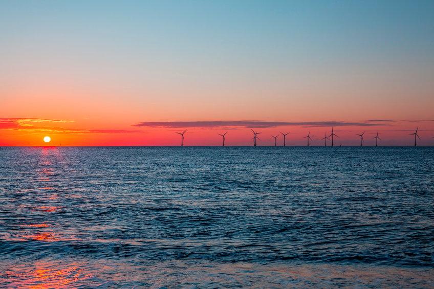 offshore windfarm east coast of UK
