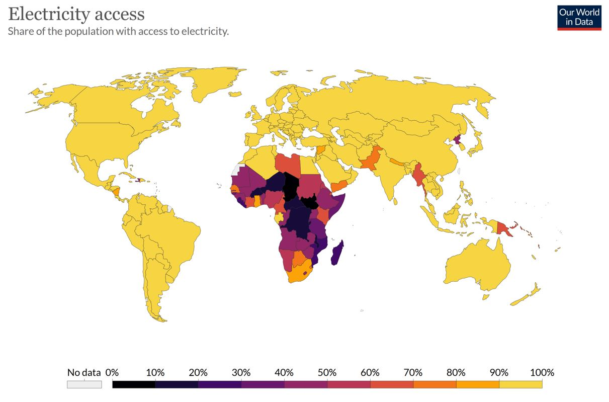 Why We Should Be Grateful for Cheap & Reliable Electricity