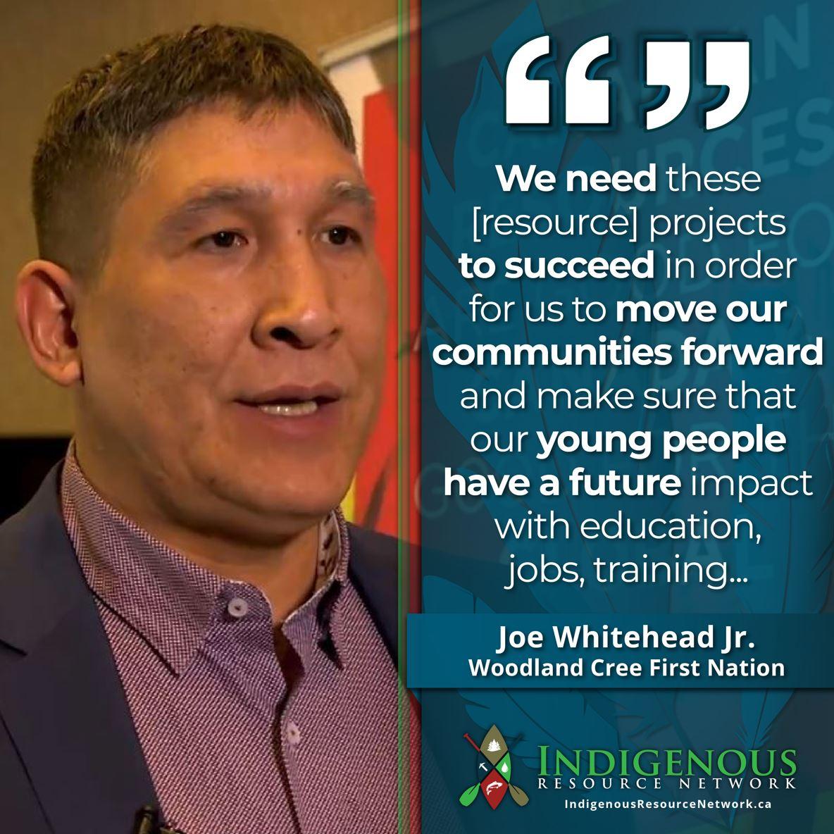 Indigenous Resource Netowrk - Joe Whitehead Jr.