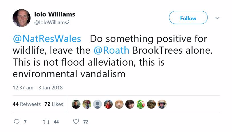 Tweet from @IoloWilliams2