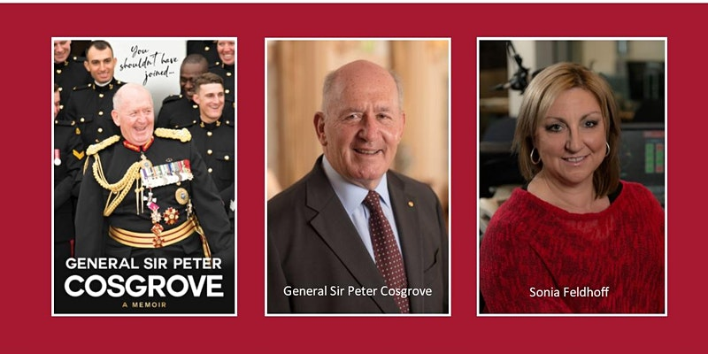 General Sir Peter Cosgrove 'In Conversation' - Live and on Zoom