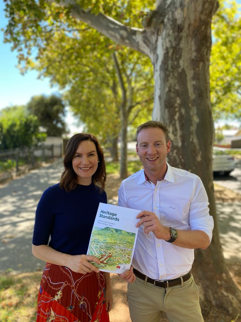 Launching the Heritage Standards for Colonel Light Gardens