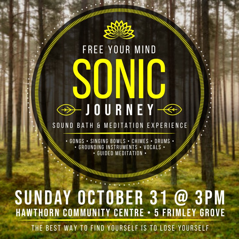 Sonic Journey - Sound Bath and Meditation Experience
