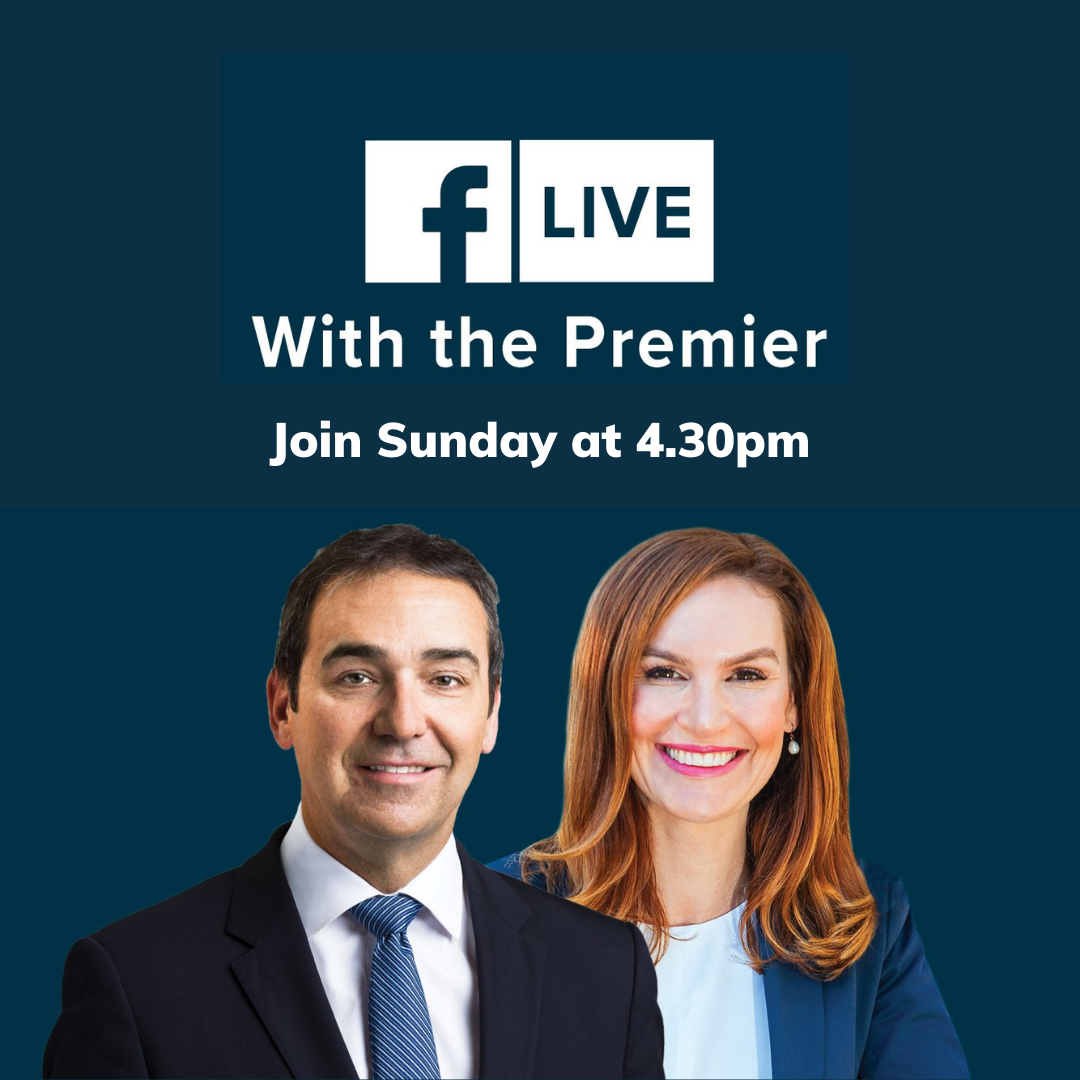 You're invited to a 'virtual townhall meeting' with the Premier