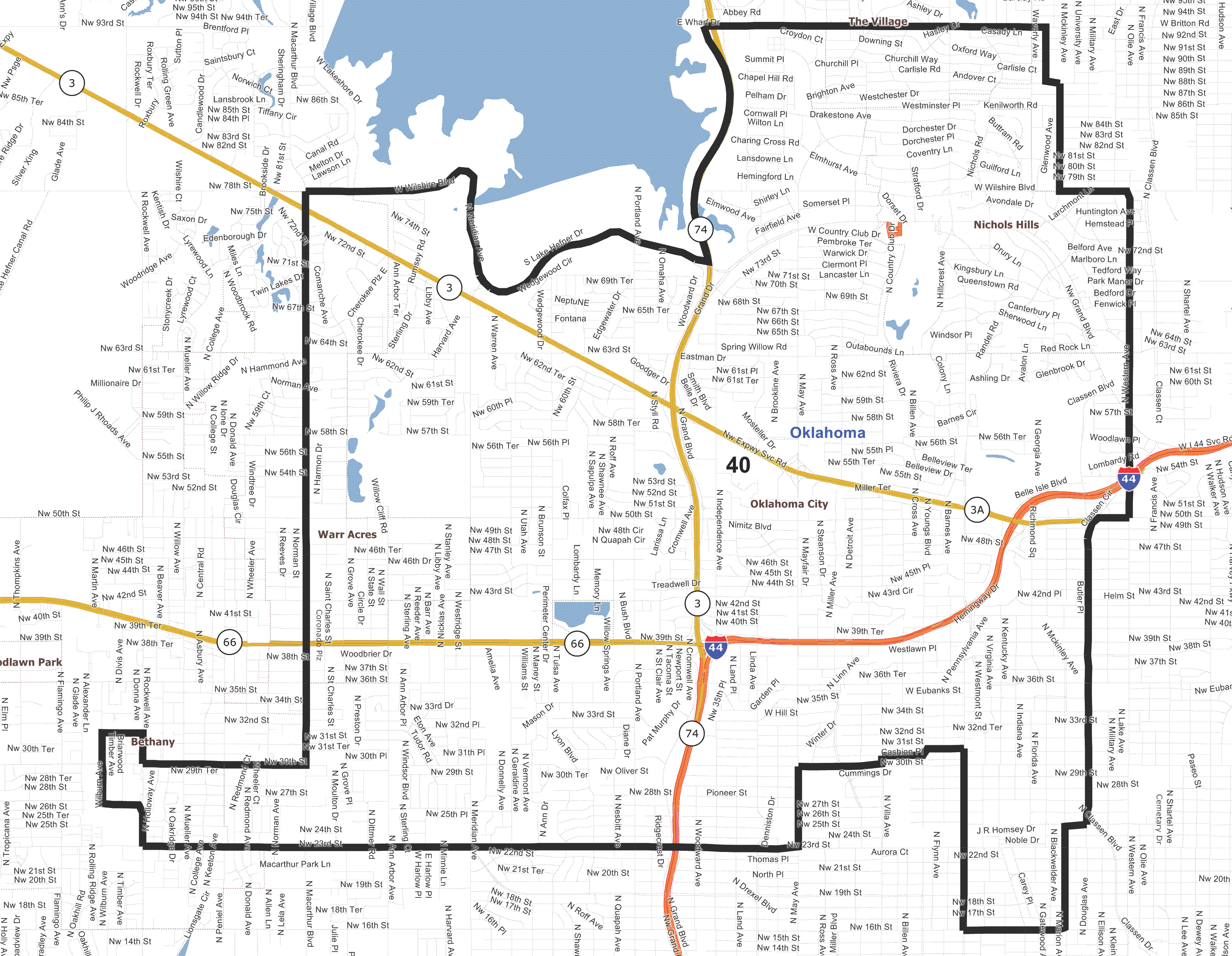 District 40 Map