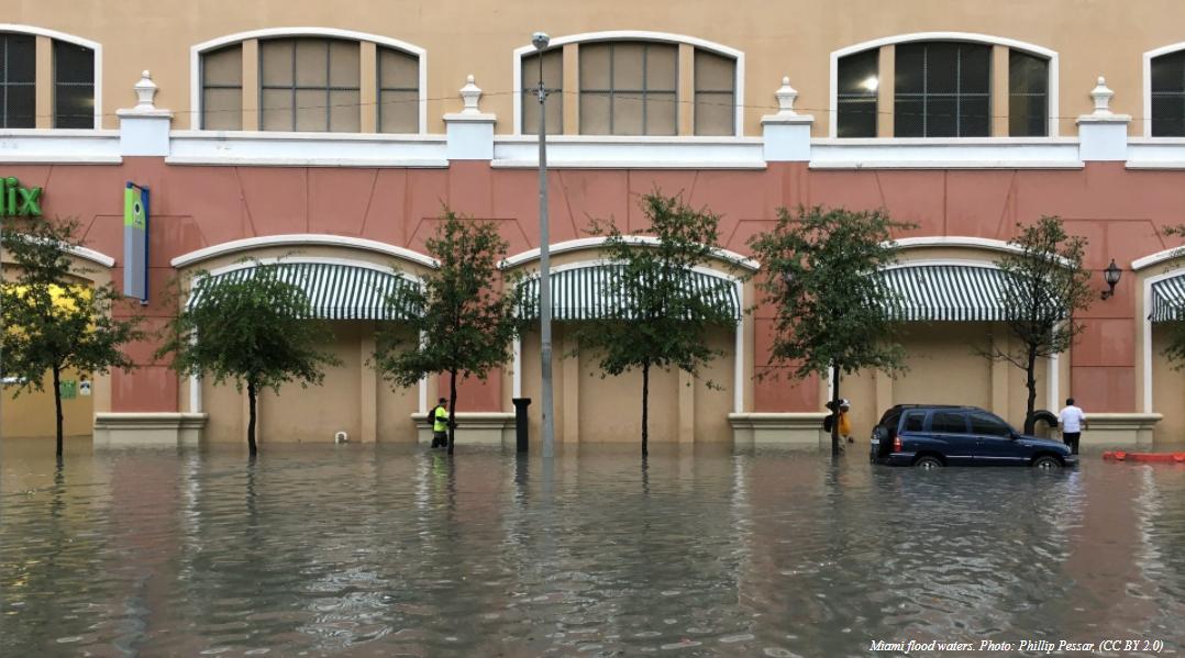Miami flood waters
