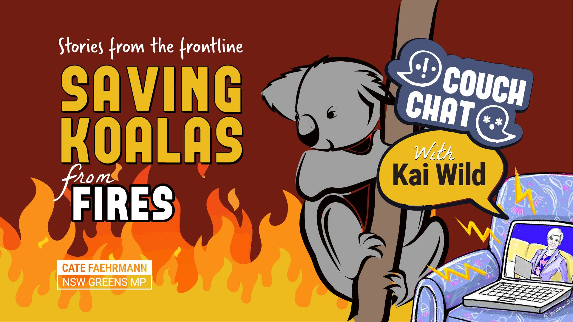Saving Koalas from Fires with Kai Wild