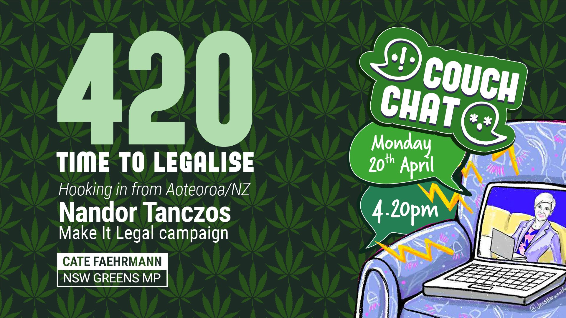Legalise Cannabis with Nandor Tanczos