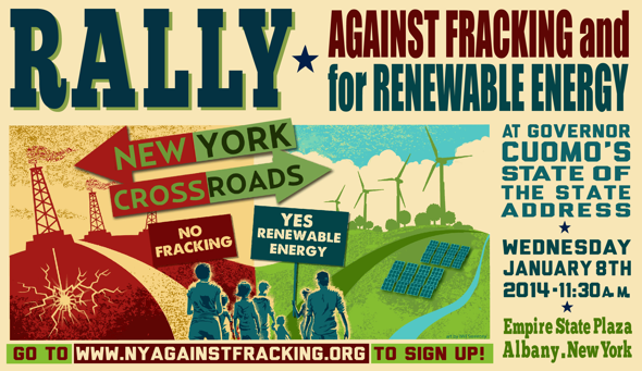 Photo Credit: New Yorkers Against Fracking
