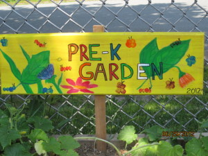 Pre-K Garden Sign