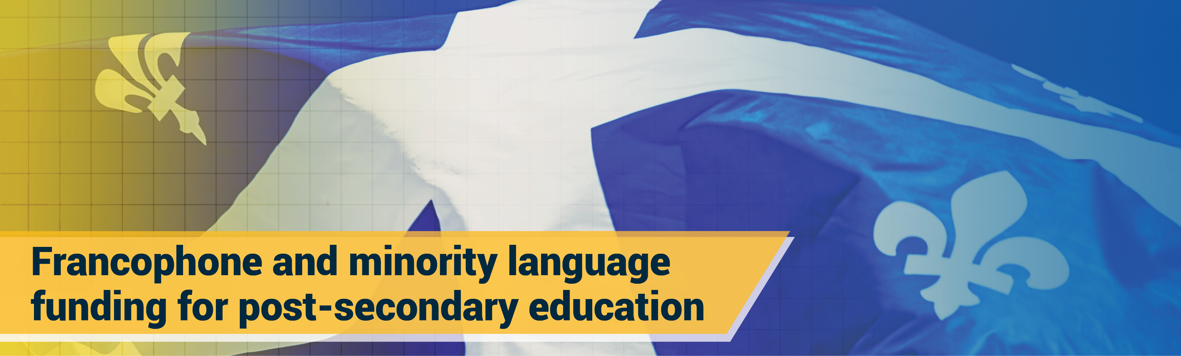 Francophone and minority language funding for post-secondary education