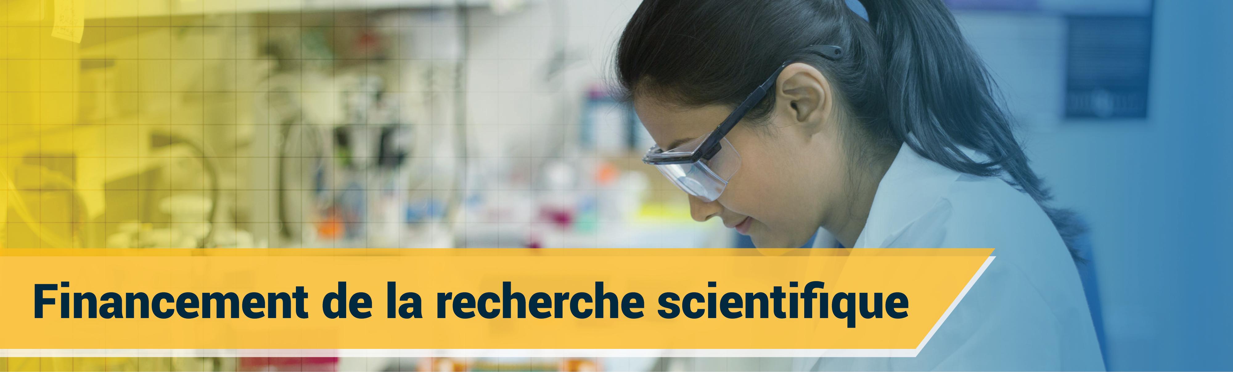 Financement de la recherche scientifique