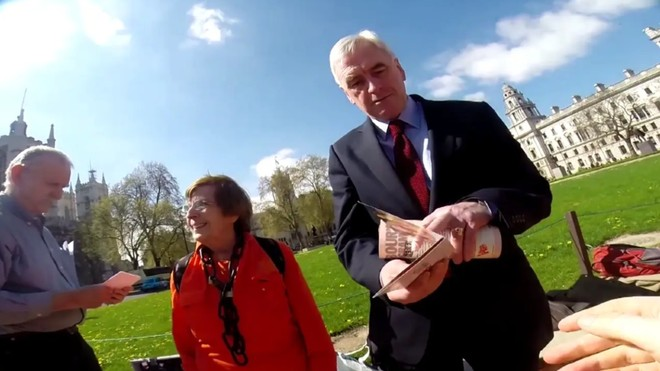 John McDonnel Denies Science