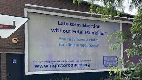 Fulham billboard