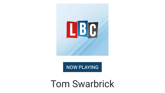 Christian Hacking on LBC with Tom Swarbrick - Explaining the #StopStella Campaign
