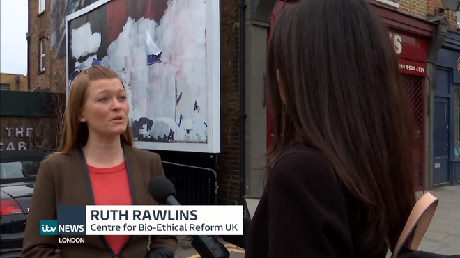 Ruth Rawlins on ITV News Explaining Why #StopStella Campaign is so Important