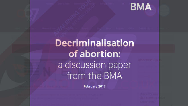 So, Just who exactly were the BMA speaking for today!?