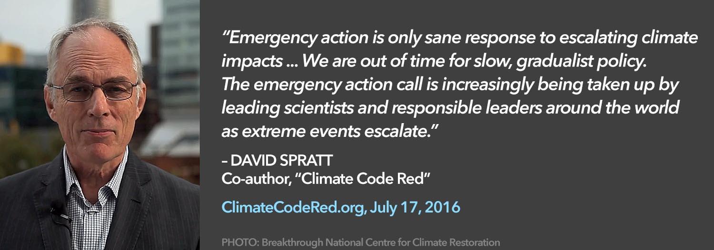 David Spratt quote