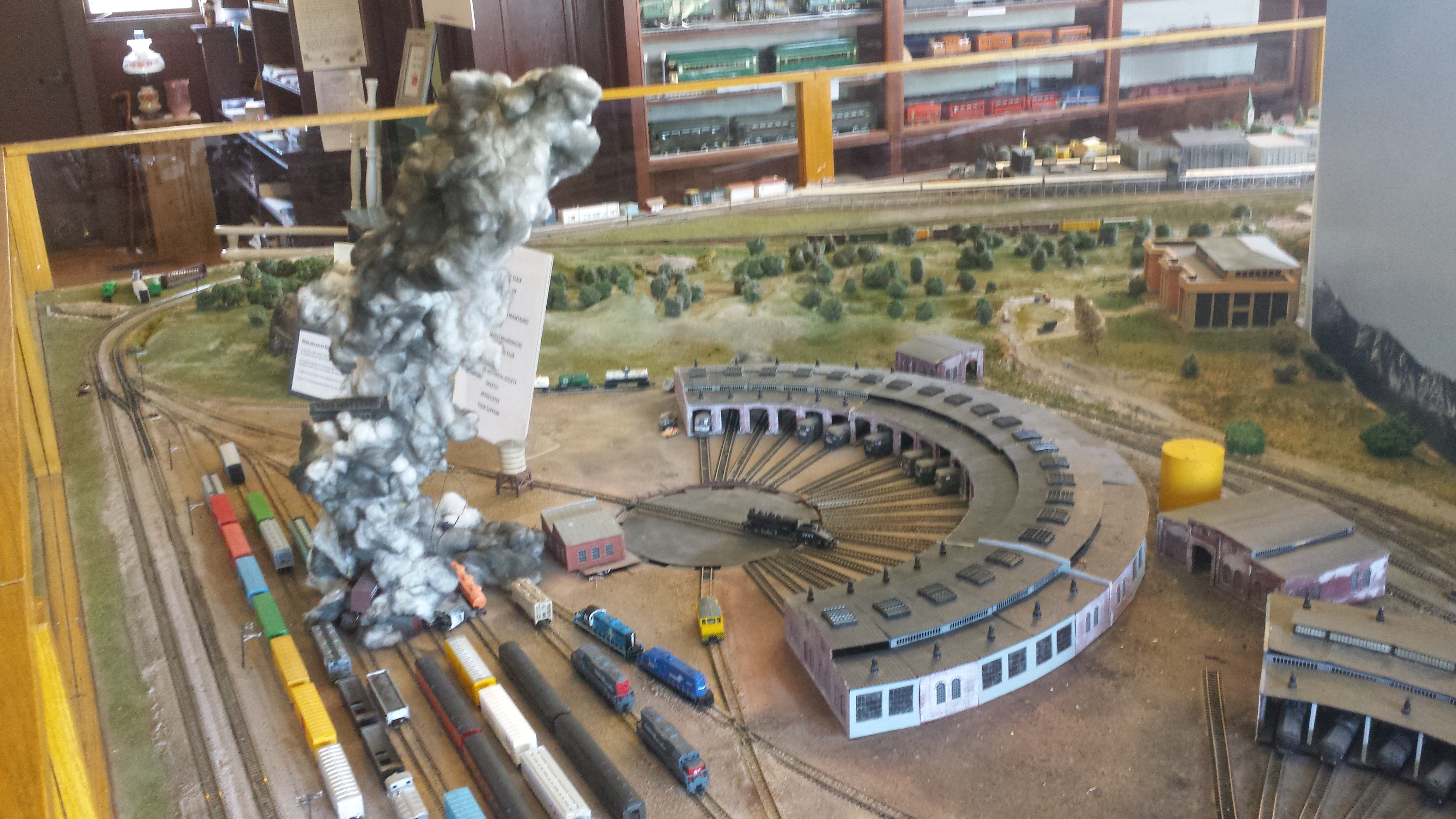 Carnegie Library Museum Train Layout