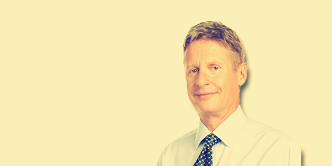 <br>Gary Johnson <em>Former NM Governor</em>