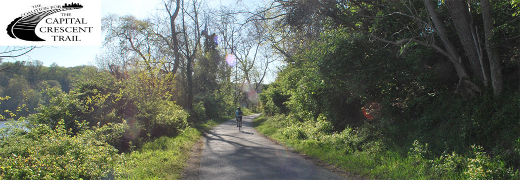 Google Map of Trail - Coalition for the Capital Crescent Trail on
