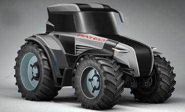 Hydrogen fuelled Tractor