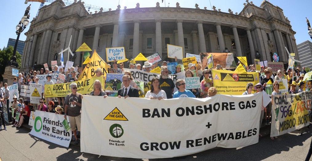 Victoria bans onshore unconventional gas!